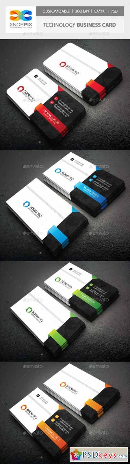 Technology Business Card 10494793