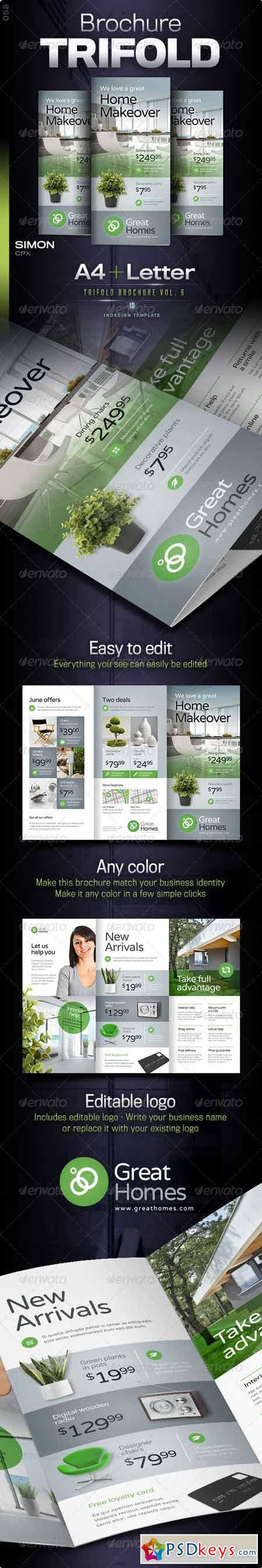 Trifold Brochure Vol 6 8164360