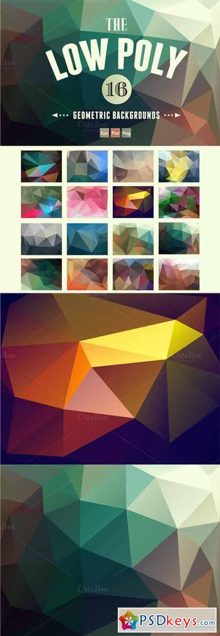 Abstract Polygon Backgrounds 30614