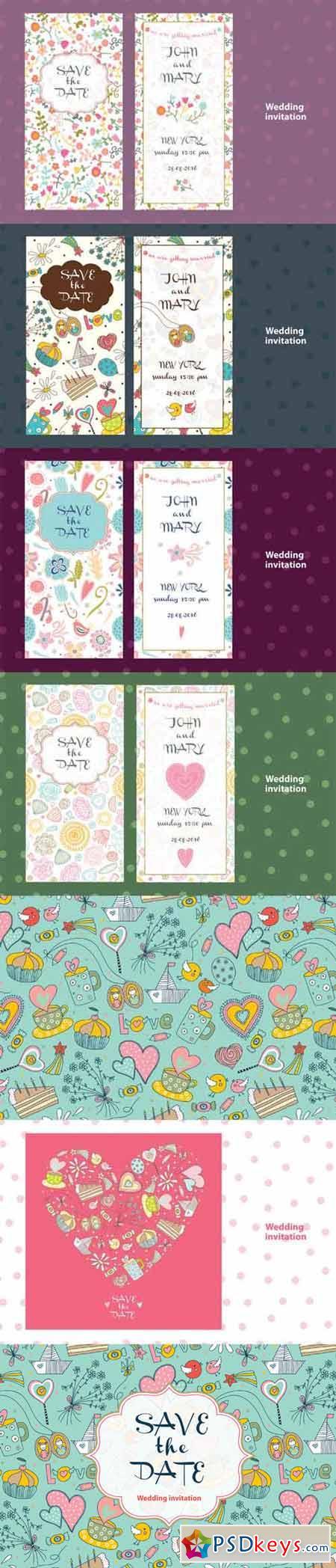 Wedding invitation 396573