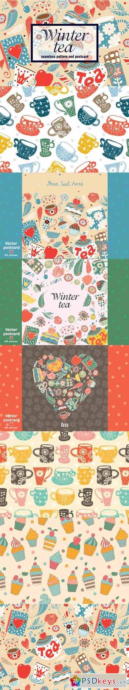 Winter tea time 405159