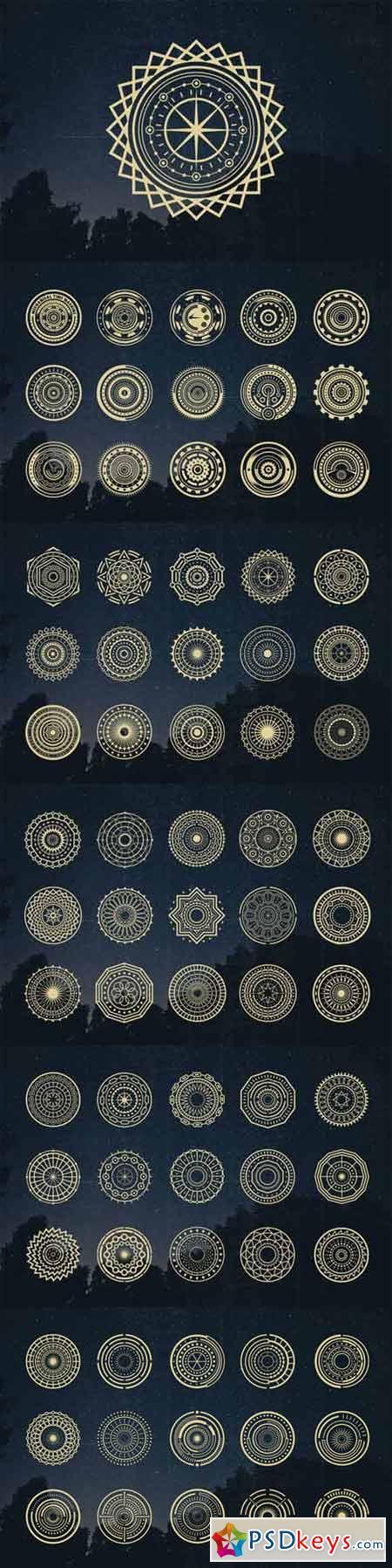75 Circle Mandala 328025