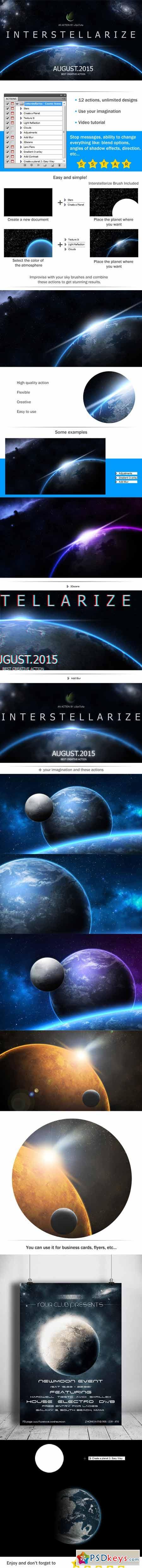 Interstellarize - Cosmic Scene Action 12576310