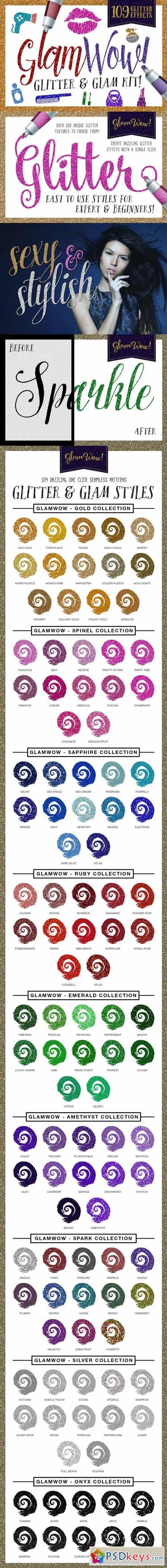 GlamWow - Glitter & Sparkle Kit 247112