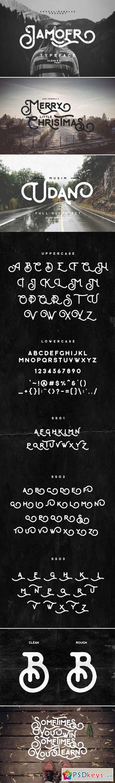 Jamoer Typeface 425870