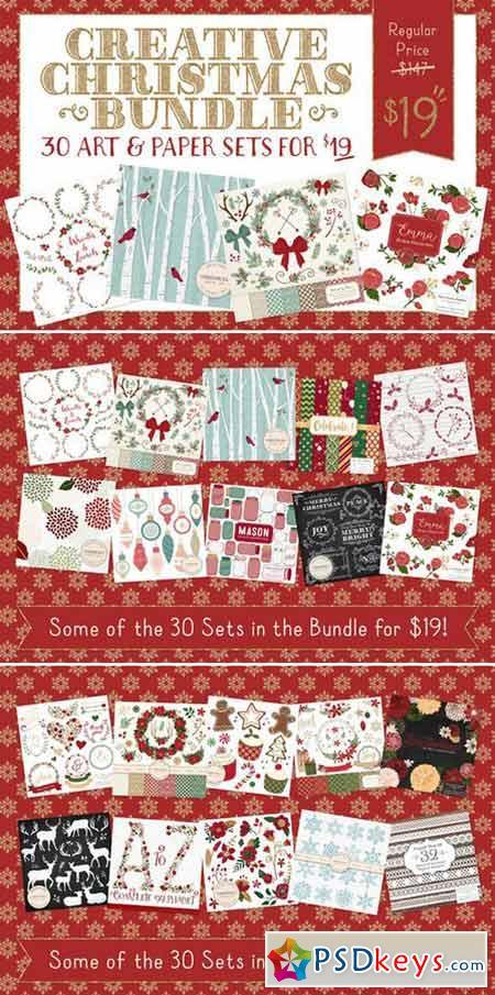 Huge Christmas Art Bundle 427630