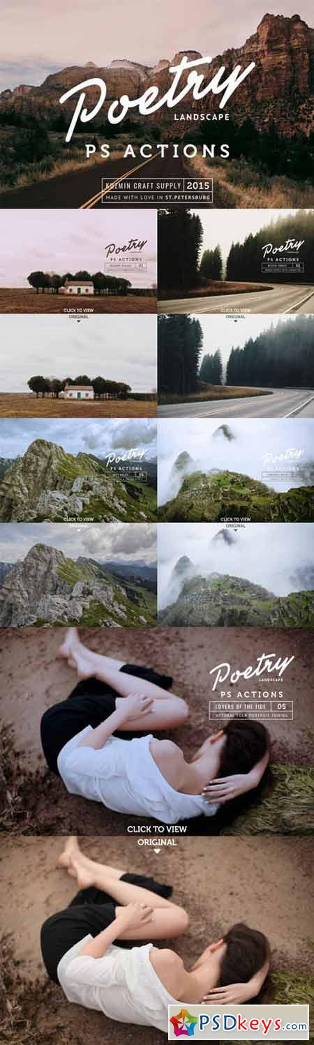 Poetry Photoshop Landscape Actions 393479