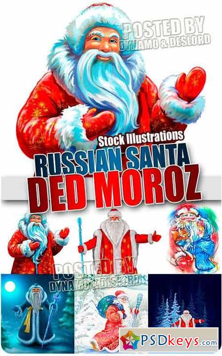 Russian santa - UHQ Stock Photo