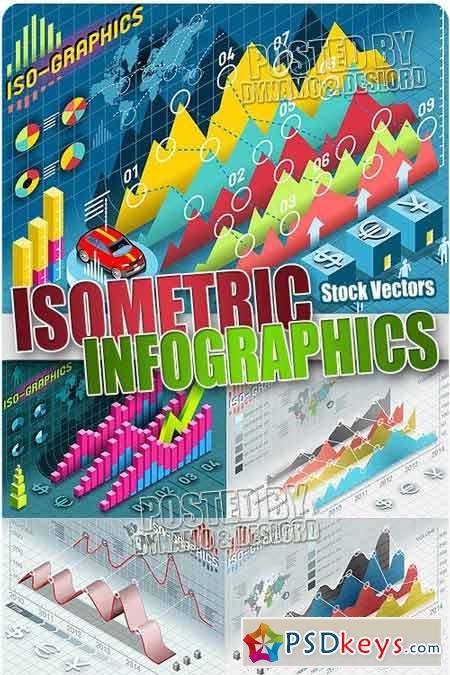 Isometric Infographics - Stock Vectors