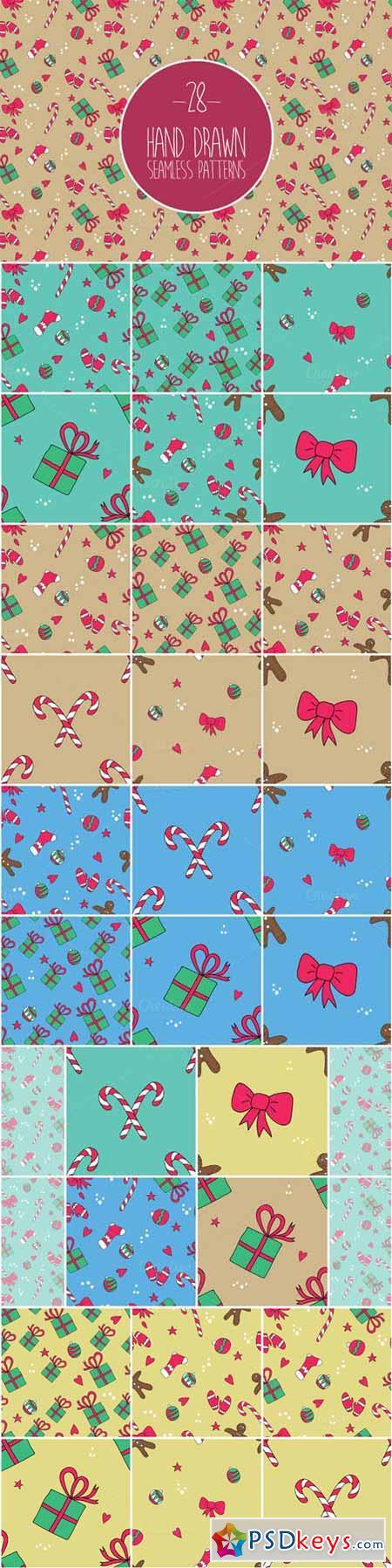 Christmas patterns set 399098