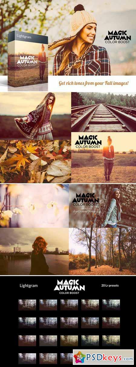 20 Autumn Lightroom Presets 429606