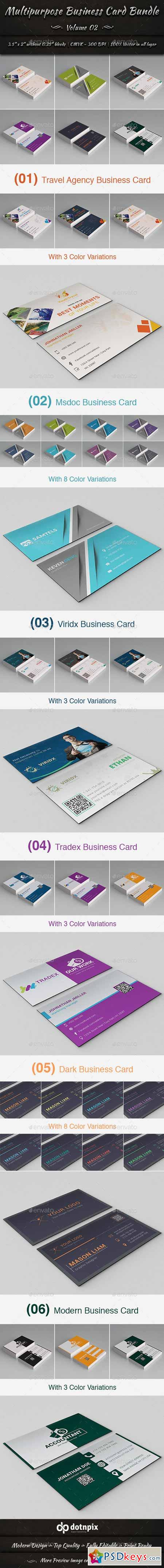 Multipurpose Business Card Bundle Volume 2 13548331