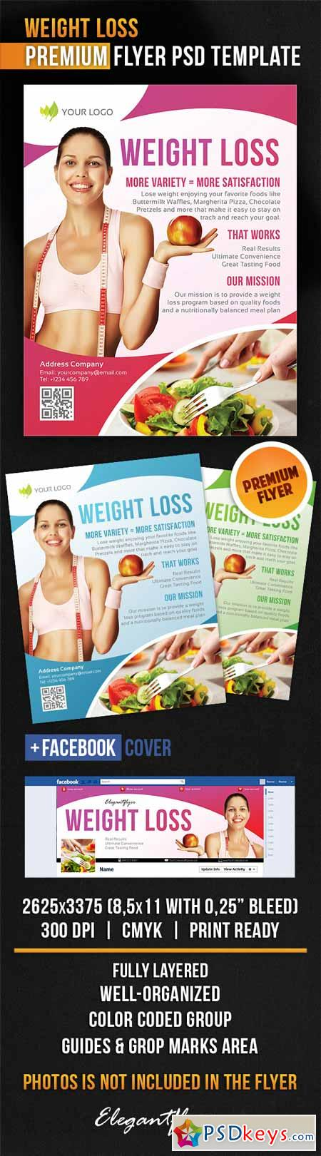 weight loss flyer templates free