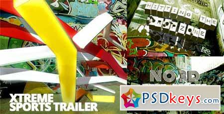 Xtreme Sports Graffiti Trailer - After Effects Projects