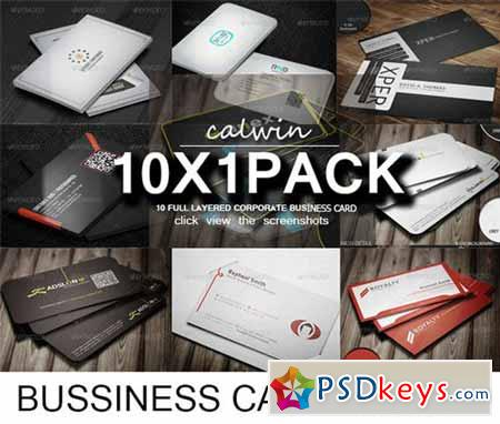10 In 1 Business Crad Bundle 1 111560