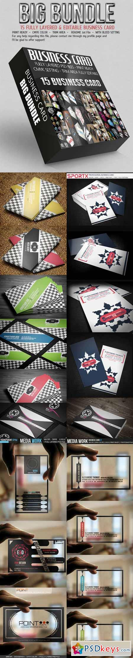 Business Card Bundle 18290