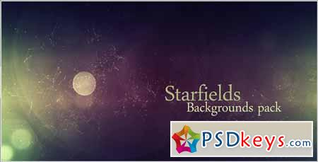 Starfields Backgrounds Pack - Motion Graphics