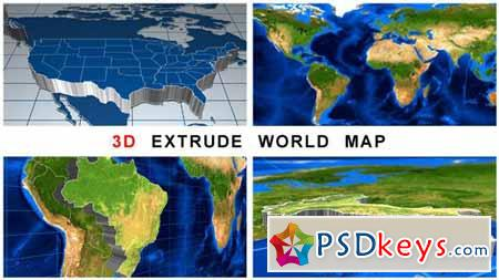 3d extrude world map after effects projects free download 3d extrude world map after effects projects gumiabroncs Images