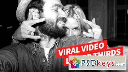 Viral Video Lower Thirds Template - After Effects Projects