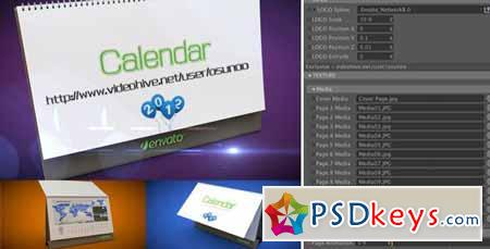 3D Calendar Preset - After Effects Projects
