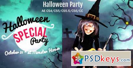 Halloween Party Wish - After Effects Projects
