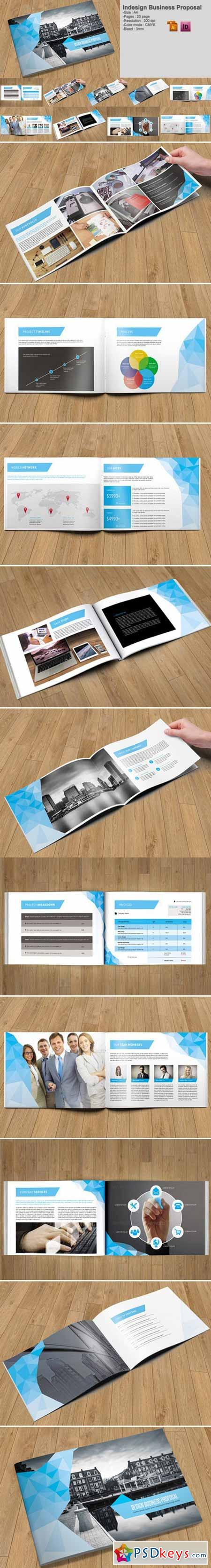 Indesign Business Proposal-V213 410758