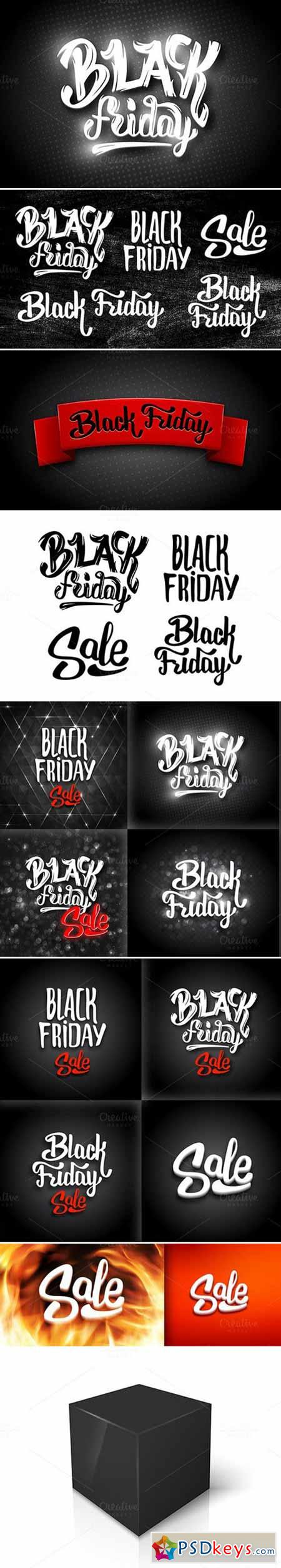 Black Friday Banners Big Bundle 430323