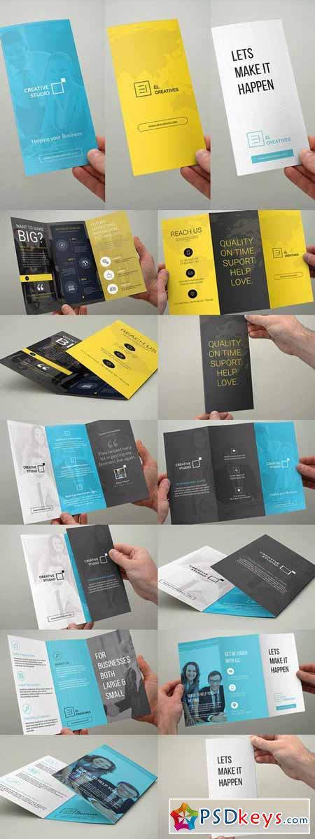 Bundle - Trifold Brochures - 3 in 1 439913