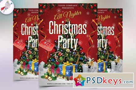 Christmas Party Flyer 449702