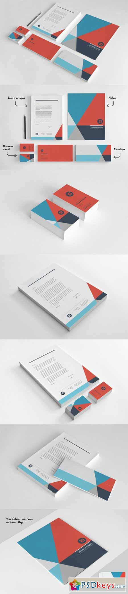 Stationery Corporate Identity 003 446454