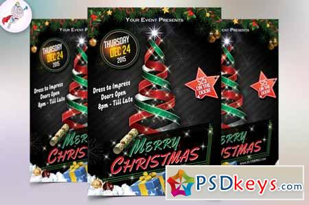 Christmas Flyer Template 448708 Free Download Photoshop Vector