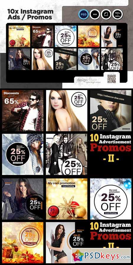 10 Instagram Advertisement Promos II 449266
