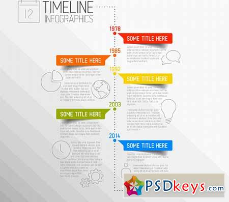 Timeline Vector Template 367461