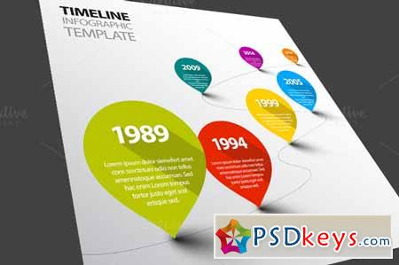 Vector Timeline Template 370037