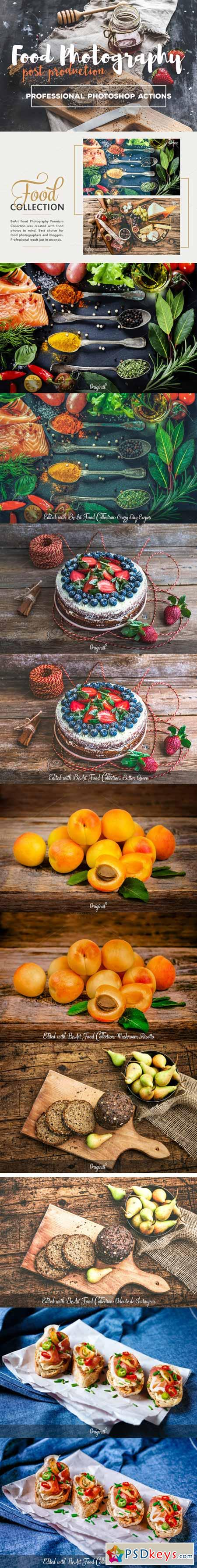 Food Photography Photoshop Actions 417932 » Free Download Photoshop