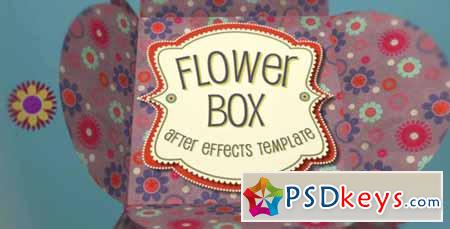 Flower Box Display - After Effects Projects