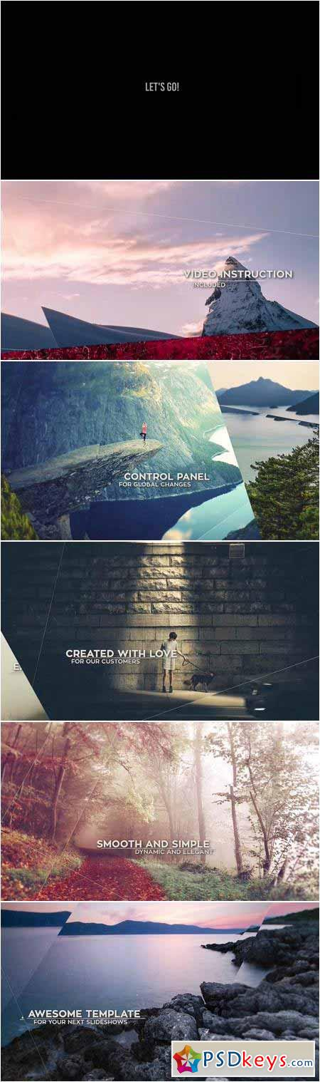 Parallax Slide - 3 Versions - After Effects Projects