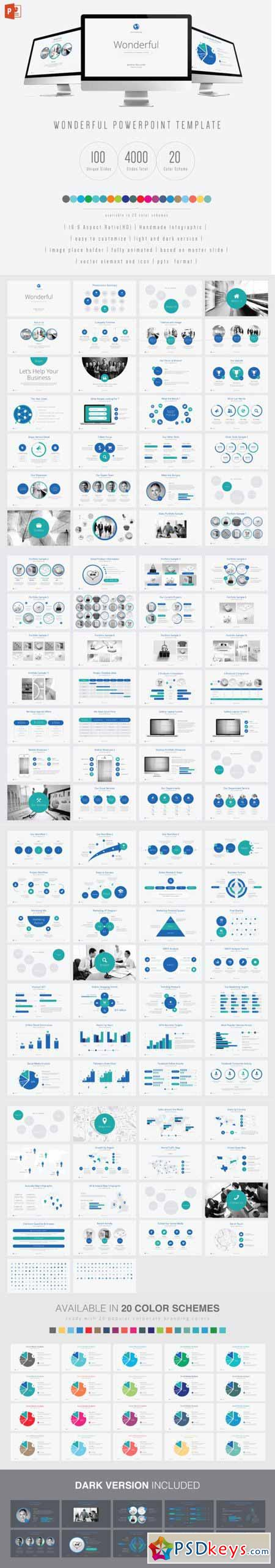 Wonderful PowerPoint Template 446458