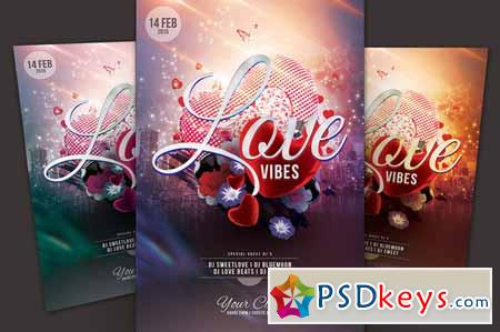 Love Vibes Flyer 160442