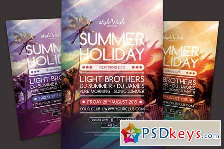 Summer Holiday Flyer 357312