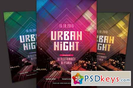 Urban Night Flyer 347929