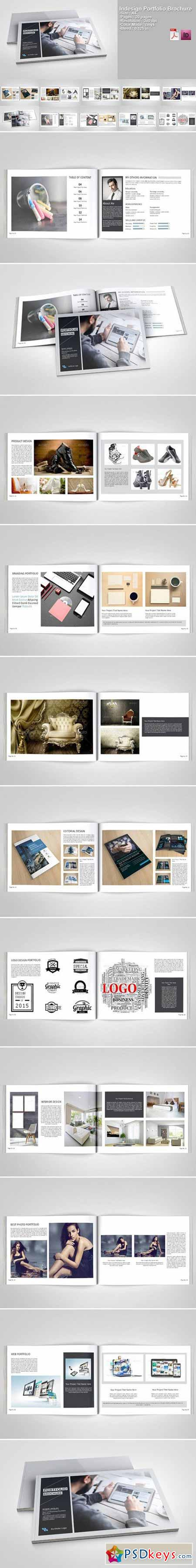 Indesign Portfolio Brochure-V217 411811