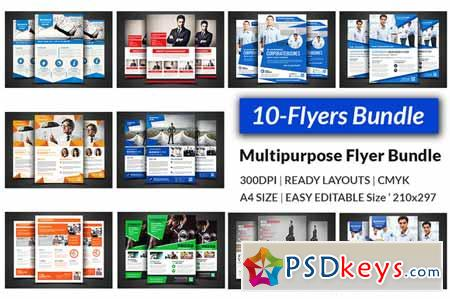 Multipurpose Flyers Bundle 450749