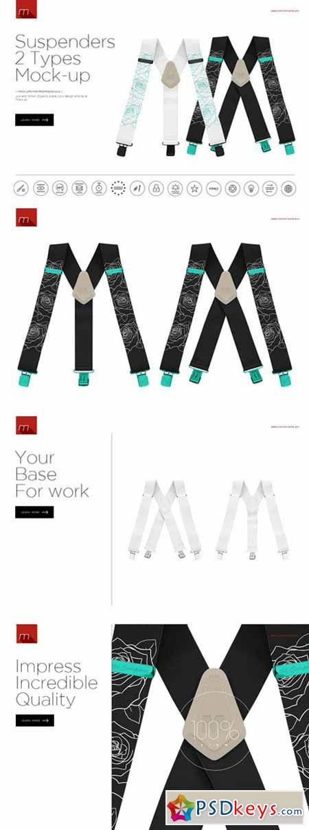 Suspenders Mock-up 452343