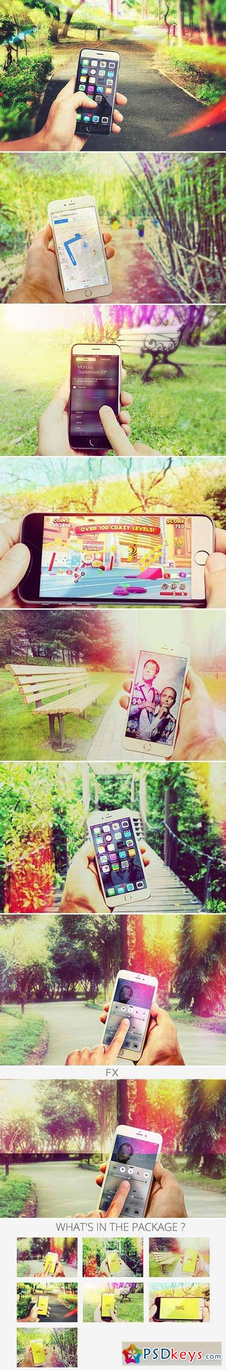 Photorealistic Phone 6 App Mock-Up 452464