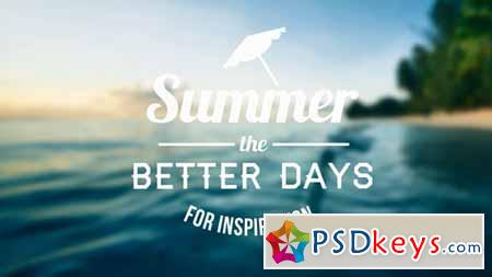 Epic Summer Days Opener - After Effects Projects