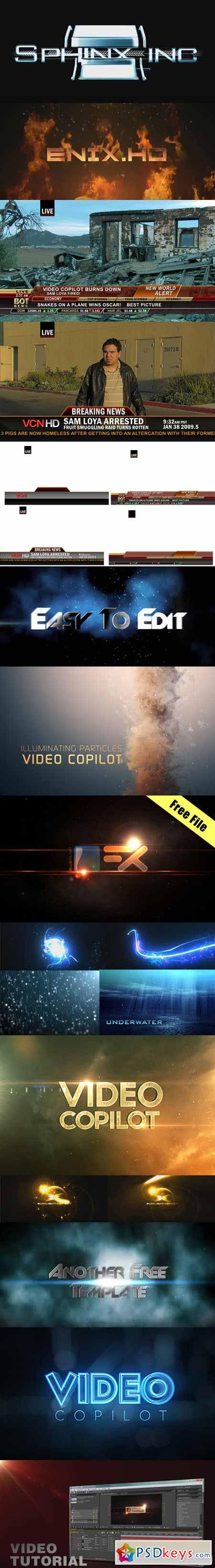 14 Free After Effects Projects (CS3+)