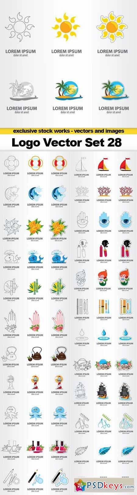 Logo Vector Set 28 - 25x EPS