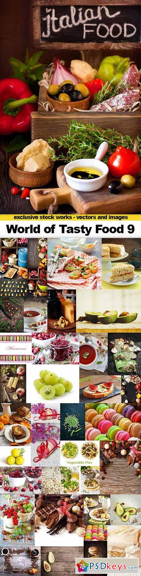 World of Tasty Food 9 - 38x UHQ JPEG