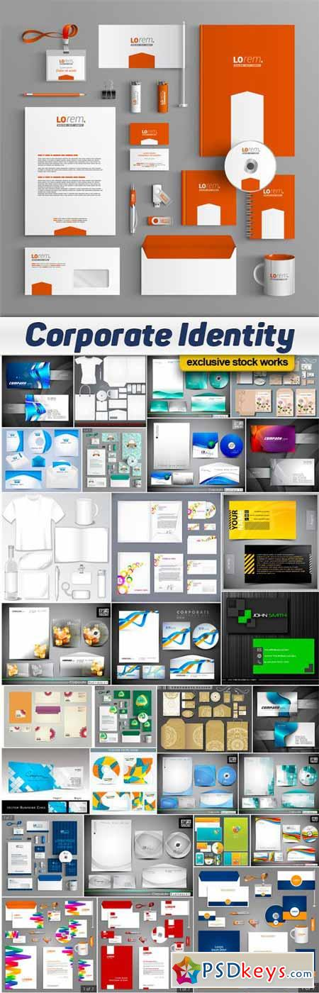Corporate Identity Templates - 30x EPS